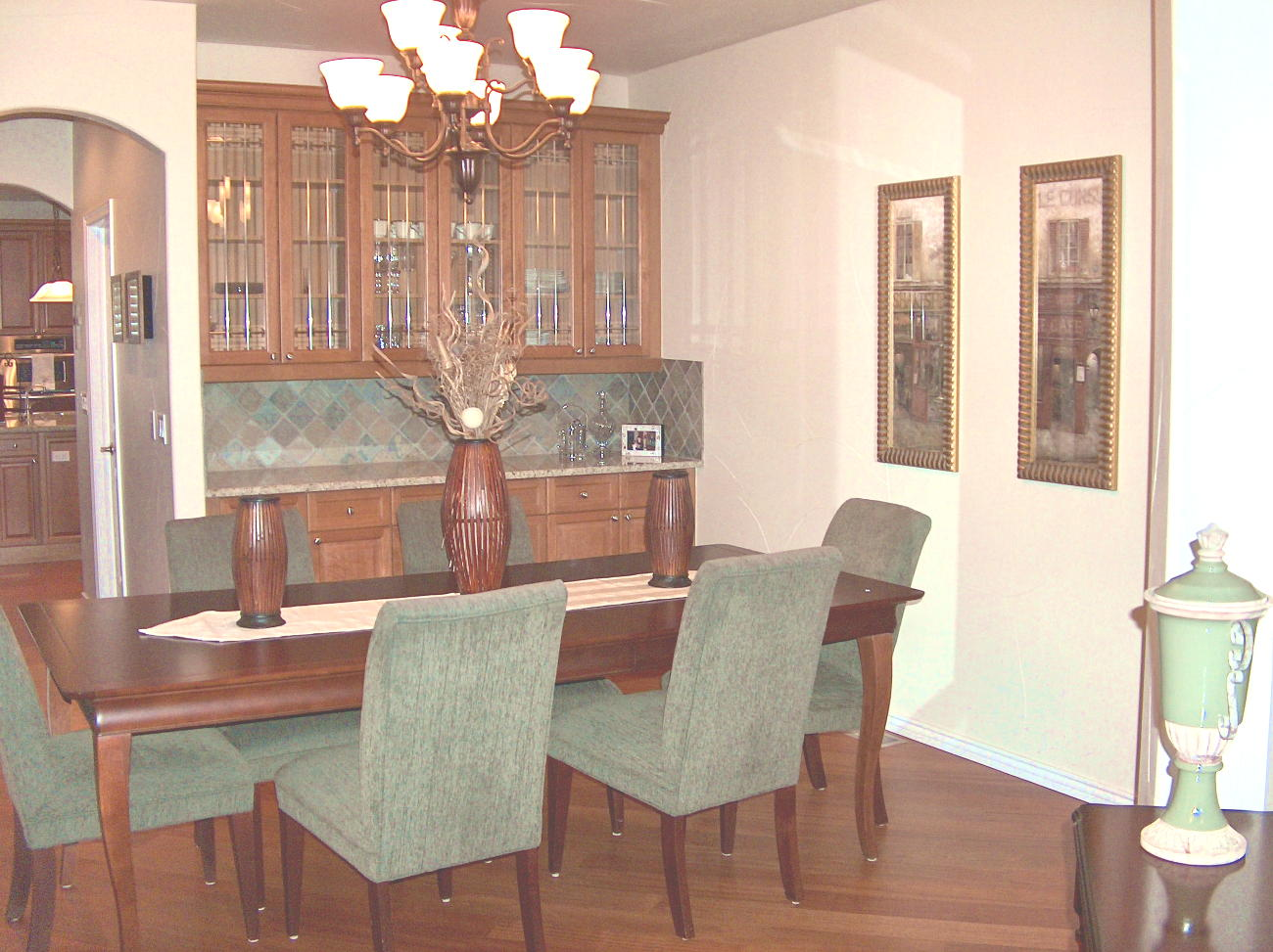 Photo of Dining Room After Staging