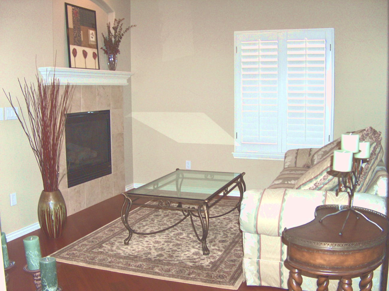 Photo of Formal Living Room After Staging