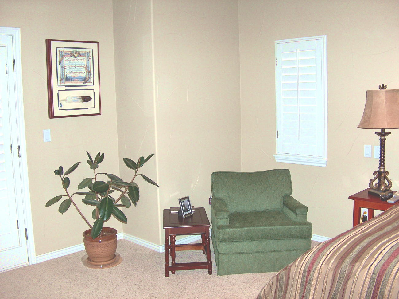 Photo of Master Bedroom After Staging