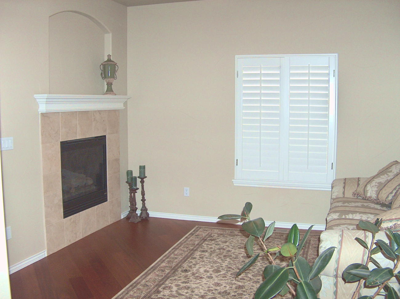 Photo of Formal Living Room Before Staging
